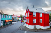 Street in Reykjavik — Stock Photo