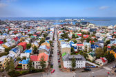 Reykjavik rooftops — Stock Photo