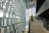 Harpa interior — Stock Photo