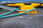 Mooring lines — Stock Photo
