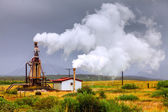Geothermal power — Stock Photo