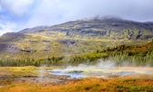 Geothermal pools — Stock Photo