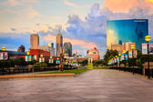 Indianapolis skyline — Stock Photo
