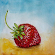 Strawberry watercolor — Stock Photo #24579359