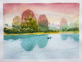 Chinese landscape — Stock Photo