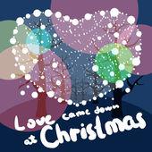 Merry Christmas love — Stock Photo