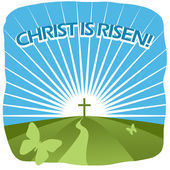 Christ is risen — Stock Photo