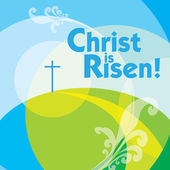 Christ is risen 2 — Stock Vector