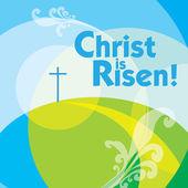 Christ is risen 2 — Stock Vector