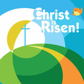 Christ is risen  — Stock Vector