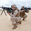 Stock Photo: US marines in action
