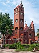 Church of Saint Simon and Helena — Stock Photo