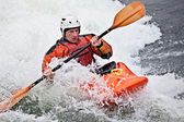Kayaking — Stock Photo