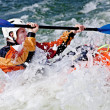 Stock Photo: Rodeo kayaking