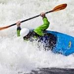 Rodeo kayaking — Stock Photo