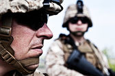 US marines — Stock Photo