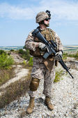 US marine — Stock Photo