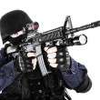 Stock Photo: SWAT officer