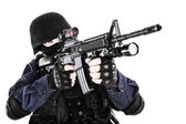 SWAT officer — Stock Photo
