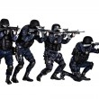 SWAT team in action — Stock Photo #41560765