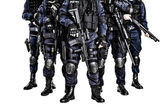 SWAT team — Stockfoto