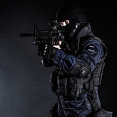 Swat officier — Stockfoto