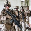 Squad of marines — Stock Photo #45174037