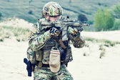 US soldier — Stockfoto