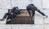 戦術的な懸垂 — ストック写真