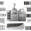 Bar codes — Stock Vector