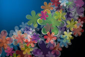 Abstract flower background — Vettoriale Stock