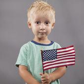Innocent Proud American — Stock Photo