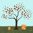 Turkeytree - Stock Vector