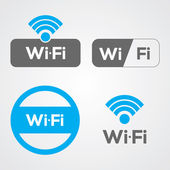 Wifi Icons — Stock Vector