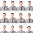 One Dozen Expressions — Stock Photo #18312551