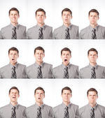 One Dozen Expressions — Stock Photo