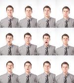 One Dozen Expressions — Stock Photo