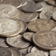 Old Silver Coins — Stock Photo