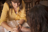 Women's Bible Study — Stockfoto