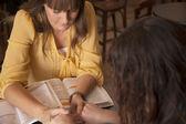 Women's Bible Study — Stock Photo