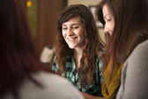 Young Women in Meeting — Stock Photo