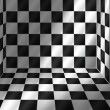 Tiled room (vector) — Stockvectorbeeld