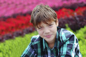Mladý chlapec — Stock fotografie