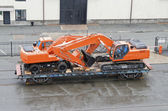 Transport excavators — Stock fotografie