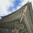 Traditional Korean Roof - Stock Photo