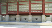 Gyeongbokgung heating system — Stock Photo
