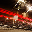 Traffic in city at night - Foto de Stock  