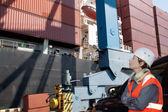 Engenheiro naval — Foto Stock