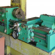 Lathe turning machine — Stock Photo