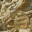 Yellow granite — Stock Photo